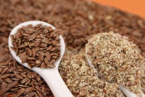 ballaststoffreiche Lebensmittel: Leinsamen
