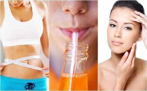 Verzichte auf ungesunde Softdrinks!