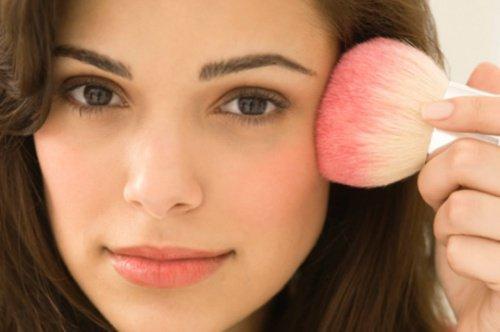 Attraktives Make-up