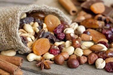 Nüsse sind essbare Samen