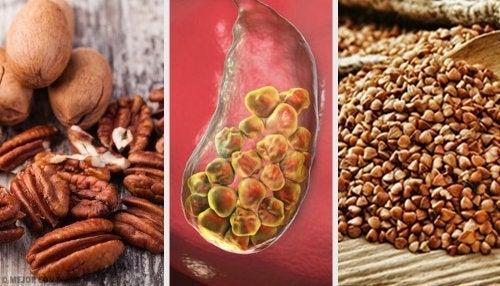 6 Nahrungsmittel, die bei Gallensteinen helfen