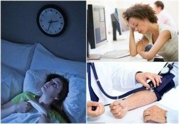 Schlafmangel hat mehrere negative Auswirkungen.