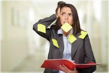 Stress und Angstzustände haben verschiedene Auslöser.
