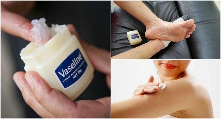 Vaseline als Hausmittel - 6 Tipps