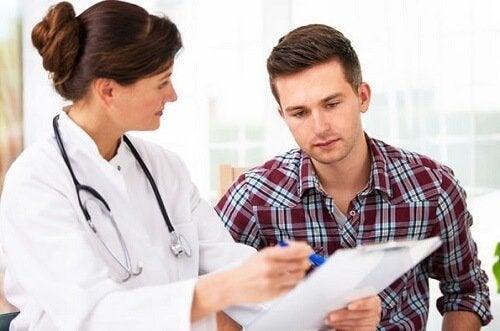 Lasse dich bei Divertikulitis von deinem Arzt beraten!