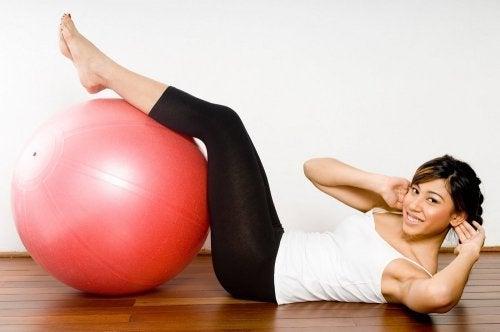 Gymnastikball für deine Gesundheit