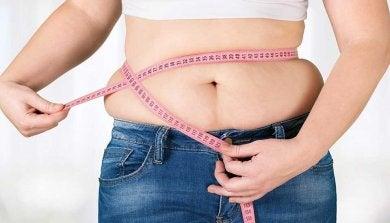 Gewichtszunahme als Anzeichen für Hypothyreose