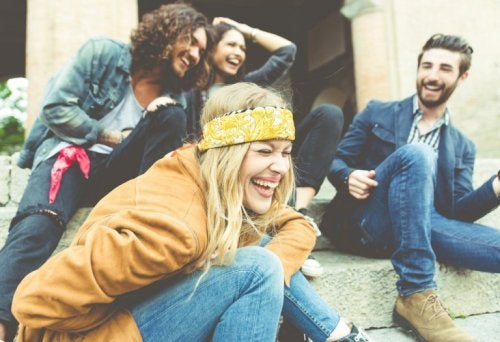 gute Freunde gegen Stress und Nervosität