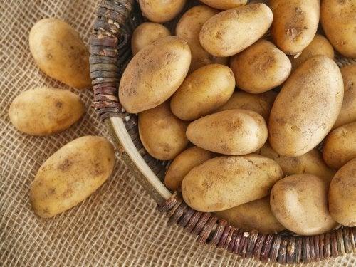 Kartoffeln und Mangold zur Behandlung bei Hämorrhoiden