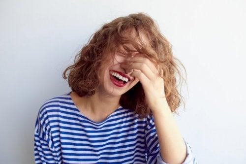 Lachen gegen Nervosität und Angst
