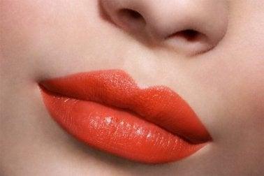 Das richtige Lippem Make-up wählen, Beauty Tricks für Frauen mit heller Haut.