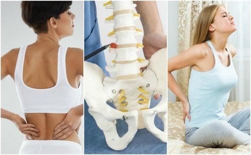 8 Gründe für lumbale Rückenschmerzen