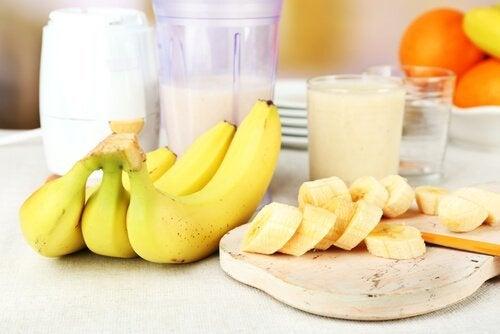 2 Bananen täglich