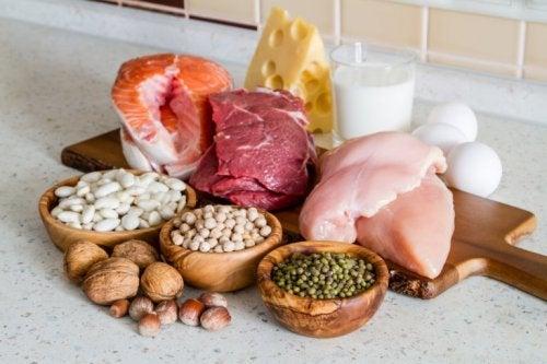 ungesunde Lebensmittelkombinationen: proteinhaltige Zutaten