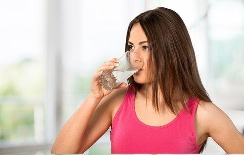 Wasser zur Behandlung von Krampfadern