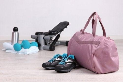 Accessoires fürs Fitnesscenter zum Kalorienverbrauch