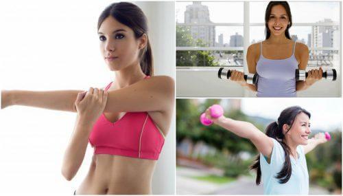 5 einfache Übungen für eine straffe Brust