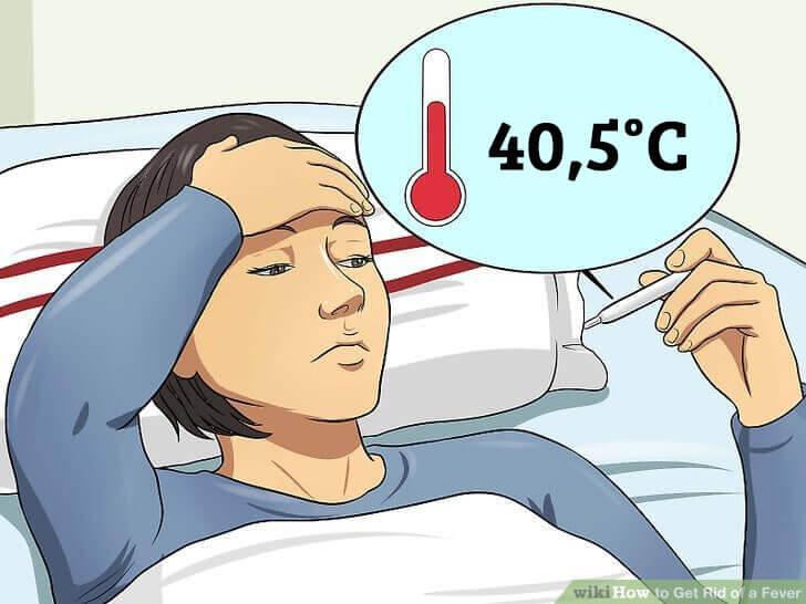Erhöhte Körpertemperatur: wann ist sie gefährlich?