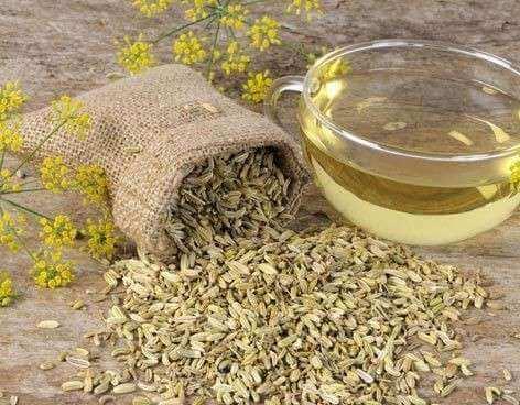 Fenchelsamen-Tee gegen Bindehautentzündung