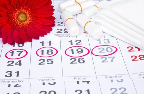 Menstruationskalender - unregelmäßige Periode
