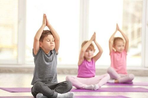3 Vorteiel von Yoga für Kinder!