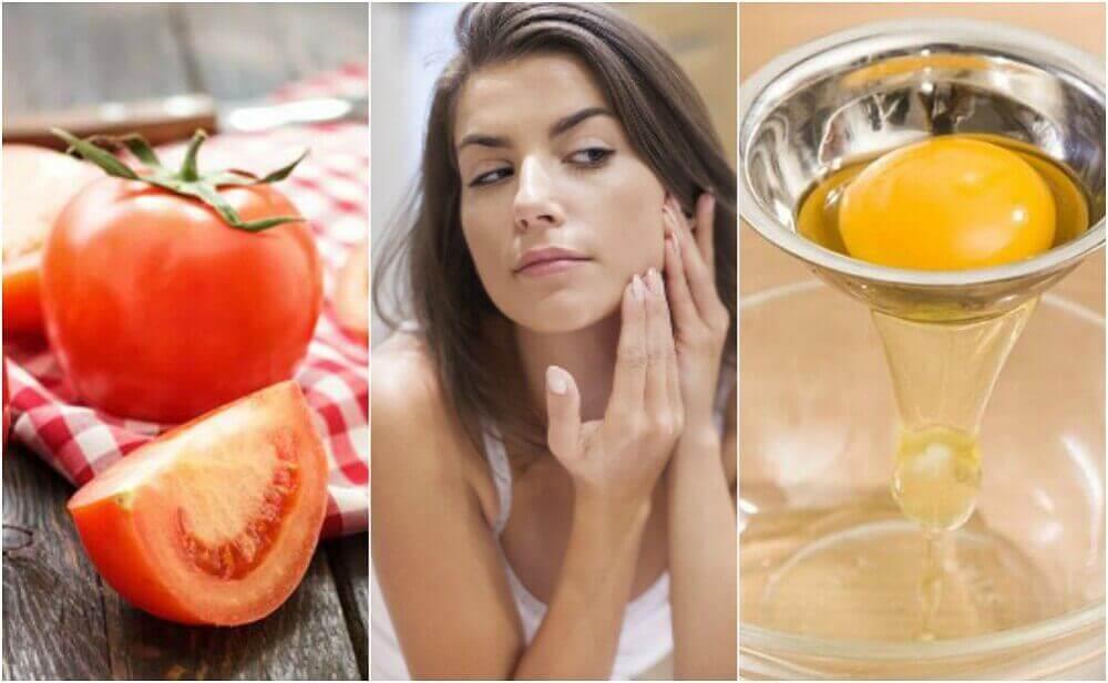 5 Gesichtsmasken gegen große Poren