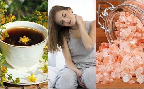 5 Natürliche Heilmittel gegen Nackenschmerzen