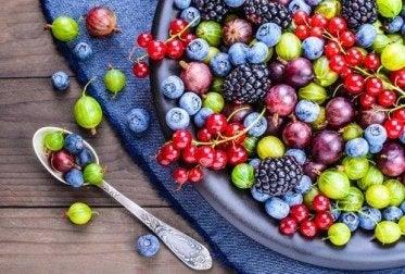500 Kalorien sparen Beeren