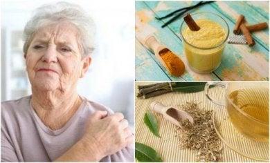 Die 6 besten natürlichen Heilmittel gegen Arthritis Schmerzen.