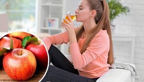 8 gesundheitliche Vorteile von Apfelsaft