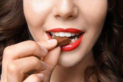 Abnehmen ohne Hunger dunkle Schokolade