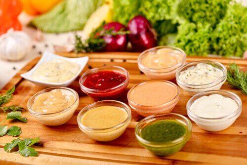 Abnehmfalle, die meisten Dips haben viele Kalorien!