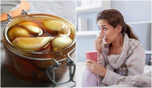 Besser Atmen mit Knoblauch-Honig