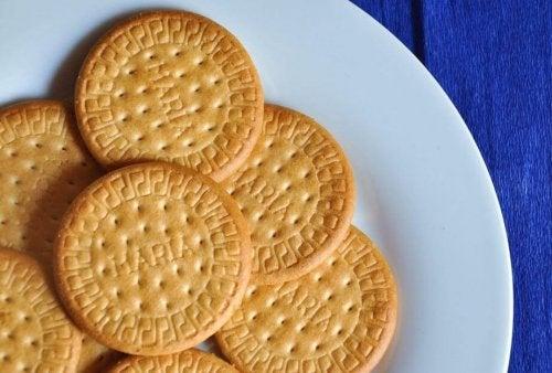 Kekse für Zitronen-Charlotte
