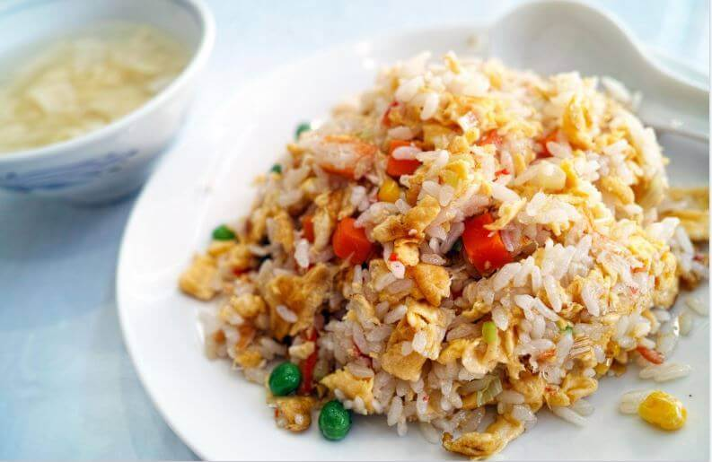 Köstliches Rezept für chinesischen Reis