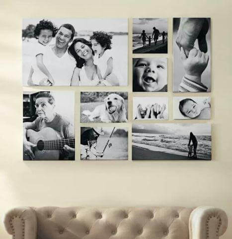 Eine von vielen tollen Fotoideen ist eine Collage.
