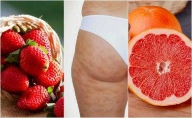 6 Früchte die gegen Cellulite helfen.