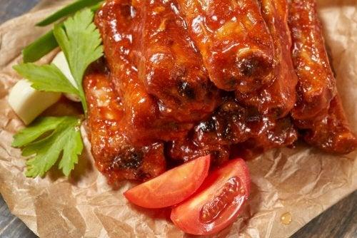 Rezepte für karamellisierte Rippchen: Mit Honig