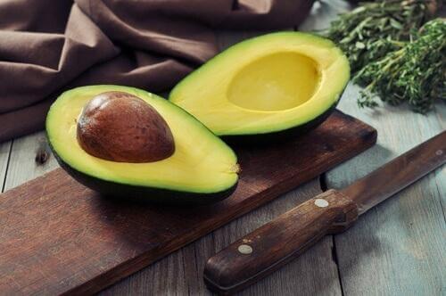 Lebensmittel zum Abnehmen Avocado