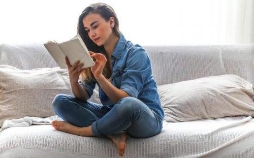 Lesen hilft bei einem Gespräch