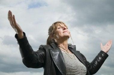 Midlife-Crisis positive Gesinnung