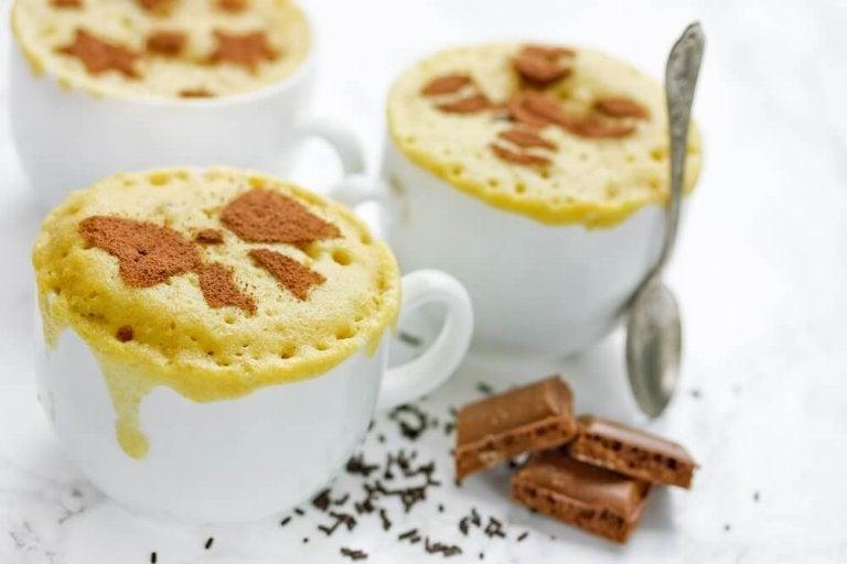 Mikrowellen-Kuchen: Ein einfaches, schnelles Dessert