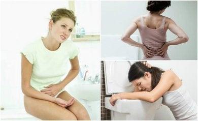 Dies sind die Symptome, die auf Nierensteine hinweisen.