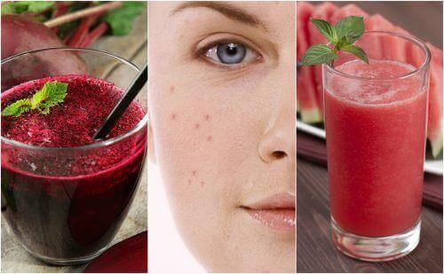 Entgiftender Smoothie gegen Akne