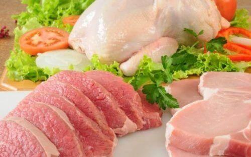 mageres fleisch um einer verstopfung vorzubeugen
