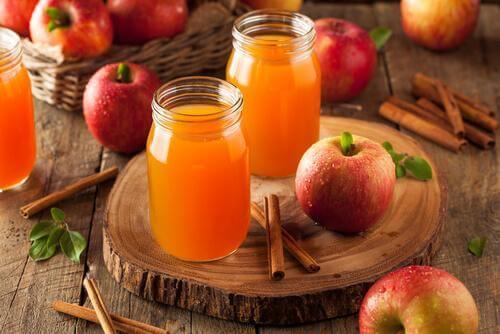 Vorteile von Apfelsaft - Hämmorhoiden