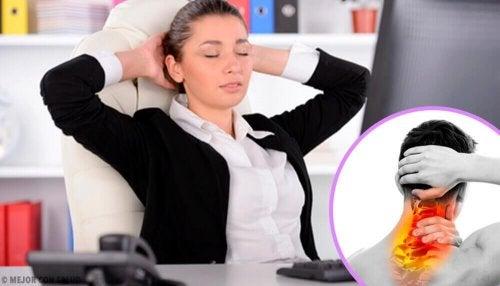 Wie behandelt man eine Nackenverspannung?