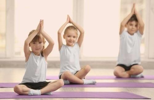 Yoga für Kinder ab 4 Jahren
