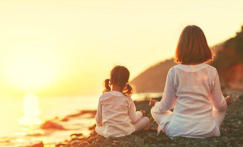 Yoga für Kinder ohne Wettkampf
