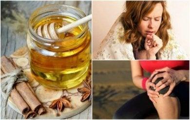 Zimt und Honig können dir beim Abnehmen helfen.